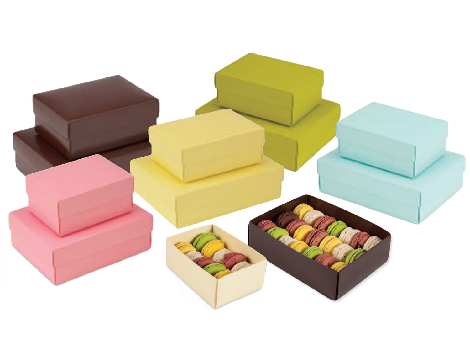 Unique and Trending Macaron Boxes & Macaron Trinket Boxes | RSF Packaging