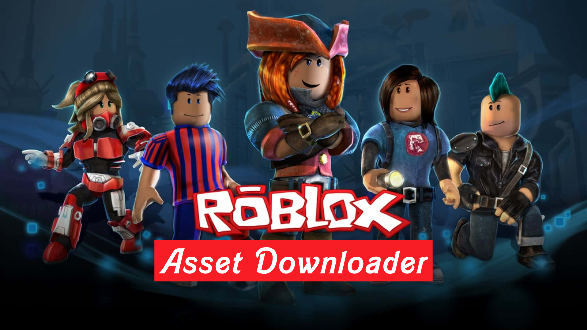 How To Download any Asset for Free on Roblox with Roblox asset Downloader