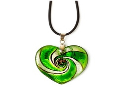 Fused-glass jewelry