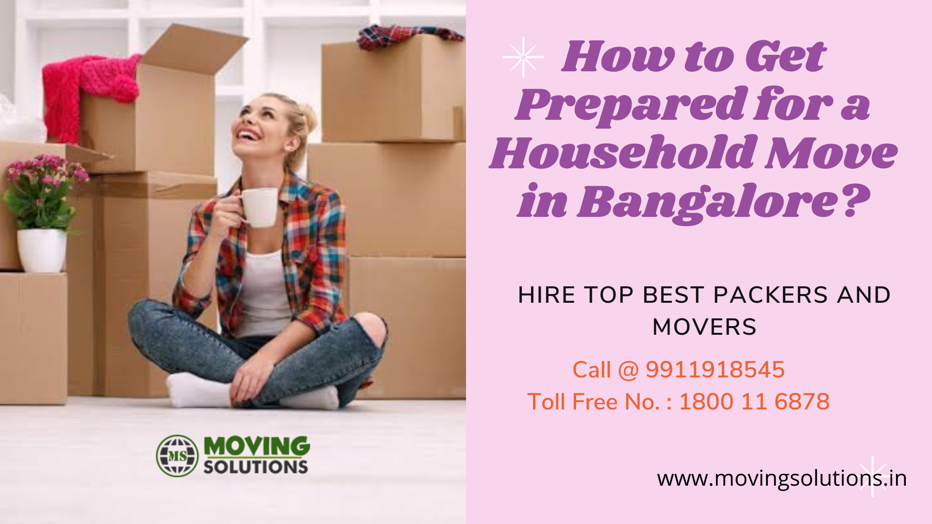 How to Get Prepared for a Household Move in Bangalore?