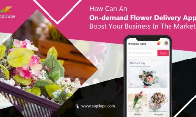 On-demand flower delivery app