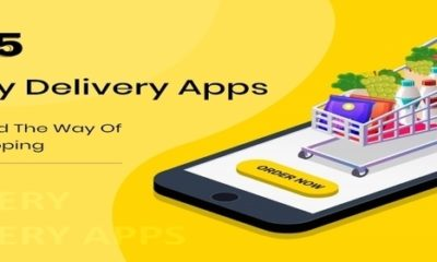 Top 5 Grocery Delivery Apps