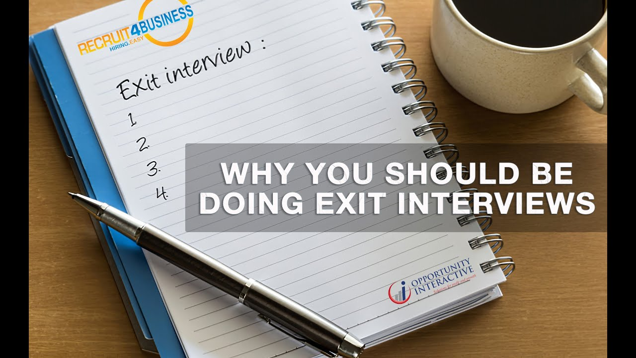 Wring Out Everything You Can from Exit Interviews