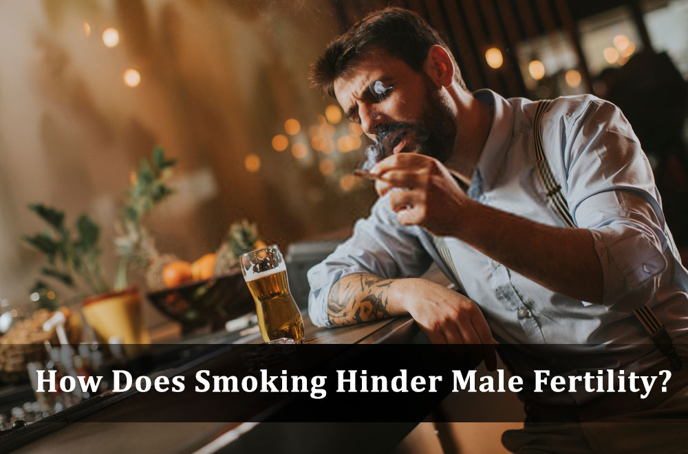 How Does Smoking Hinder Male Fertility?