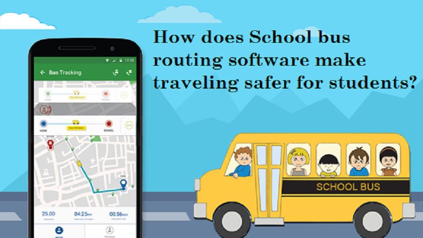How Does School Bus Routing Software Make Traveling Safer for Students?