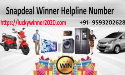Snapdeal Lucky Draw Winner 2020