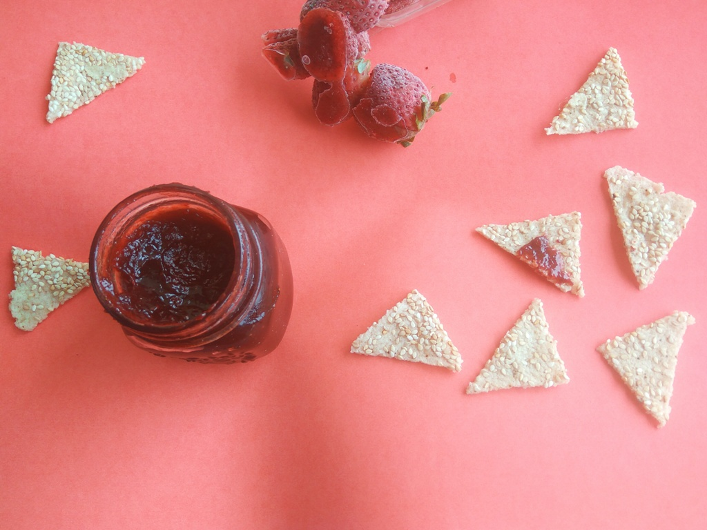 Introducing the Yummiest Strawberry Jam for Dieters!