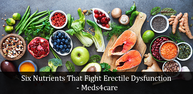 Six Nutrients That Fight Erectile Dysfunction