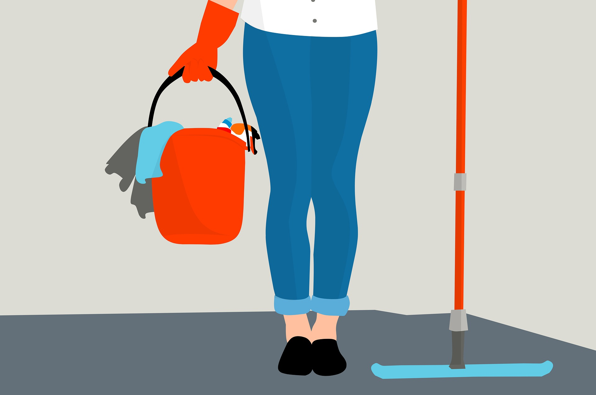 Interesting Facts about Floor Mopping That Will Make Your Hair Stand on End