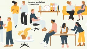 Increase workplace connectivity
