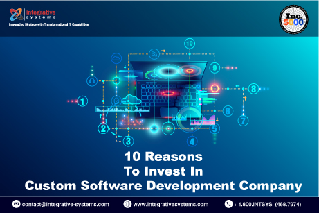 10 Reasons To Invest In Custom Software Development Company
