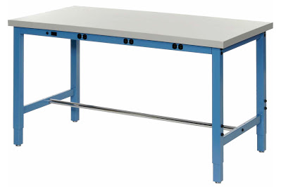 How do I Make an Adjustable Workbench Height?