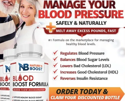Blood Boost Formula Review – Does This Formula Work?