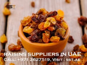 raisins suppliers in UAE