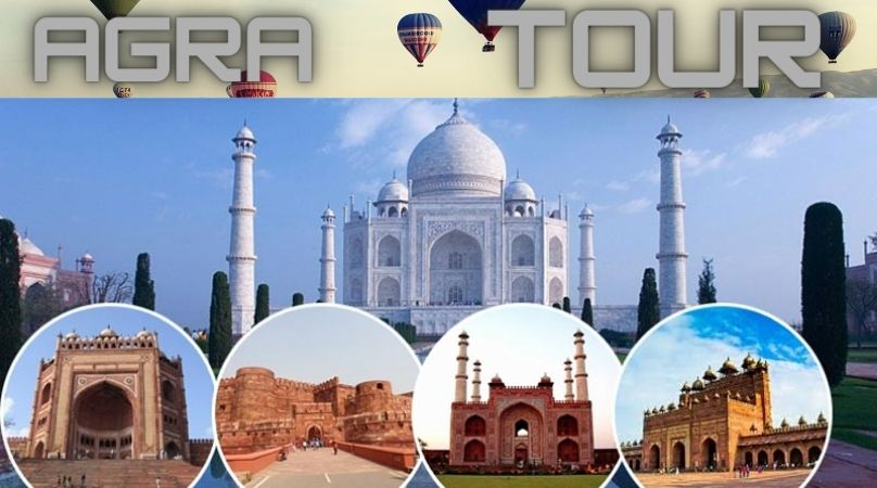 Same Day Agra Tour by Car | Taj Mahal Tour Packages