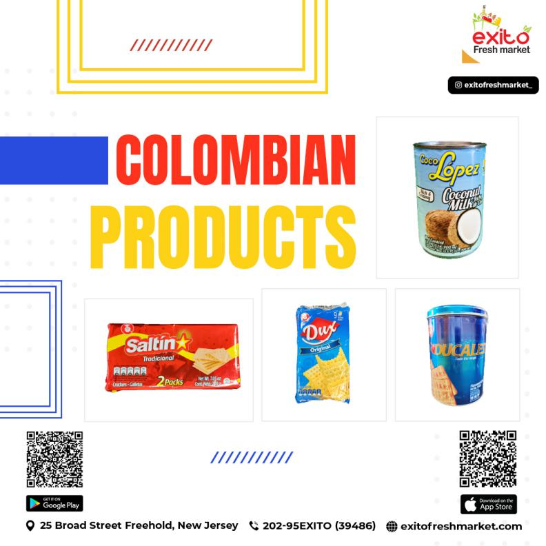 Buy Colombian Online Freehold Food
