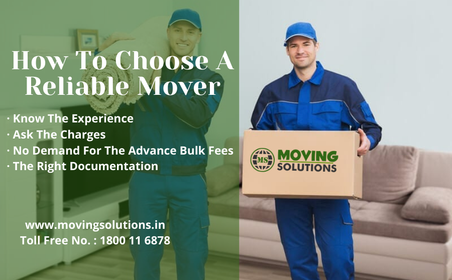 How to Choose a Reliable Mover