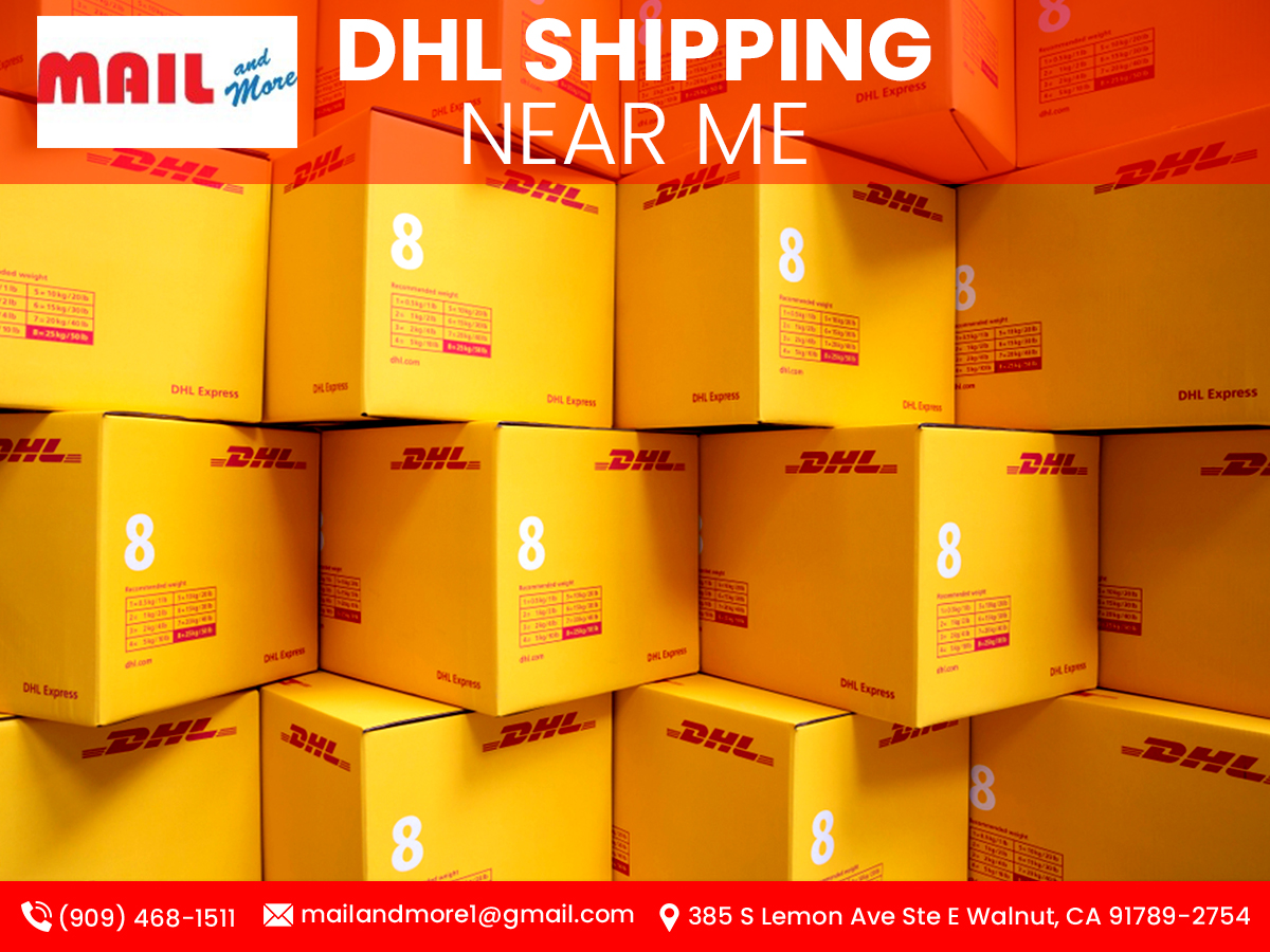 DHL Shipping Near Me and My City