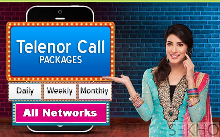 Some famous Telenor call packages offers