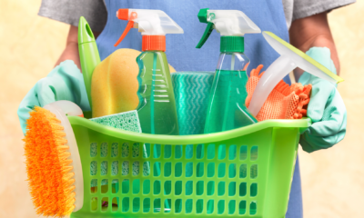 Shopping for Cleaning Supplies