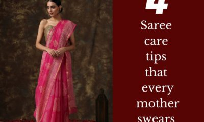 4 Saree care tips that every mother swears by