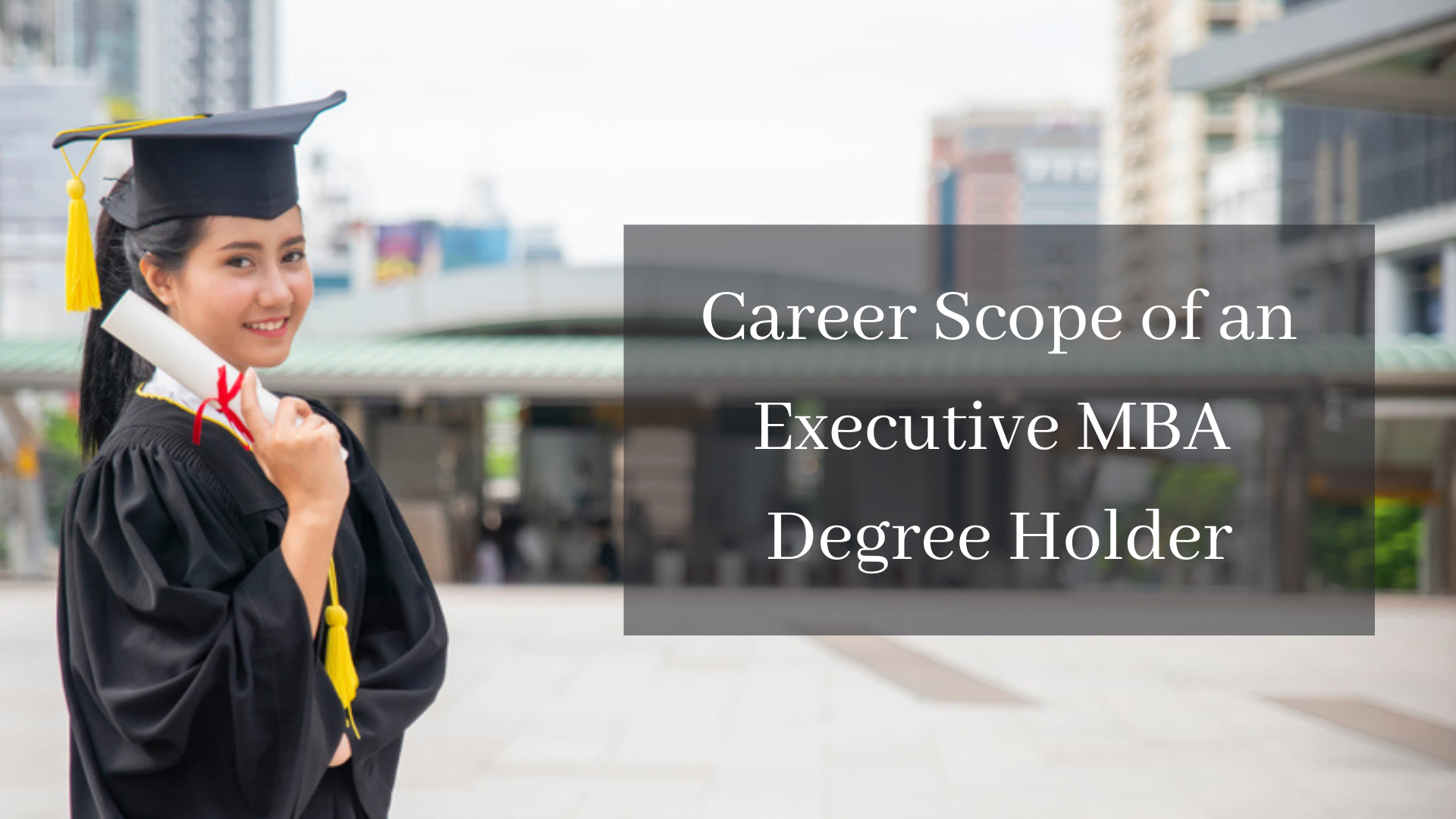 Career Scope for Executive MBA Holders?