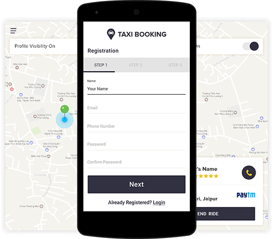 3 Essential Features Of Taxi Booking App Development