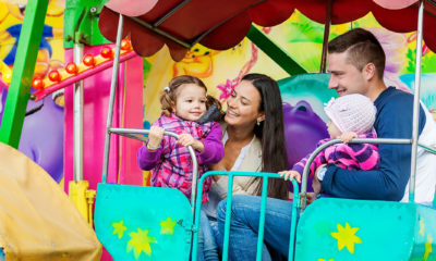 Enjoy Theme Park Rides With Your Kids