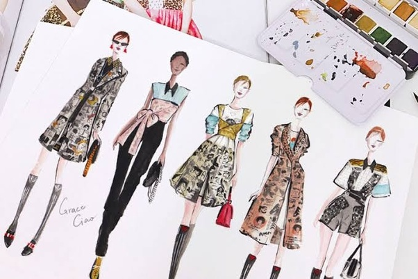 The Allure of Fashion Illustrations