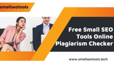 Small SEO Tools Online Plagiarism Checker