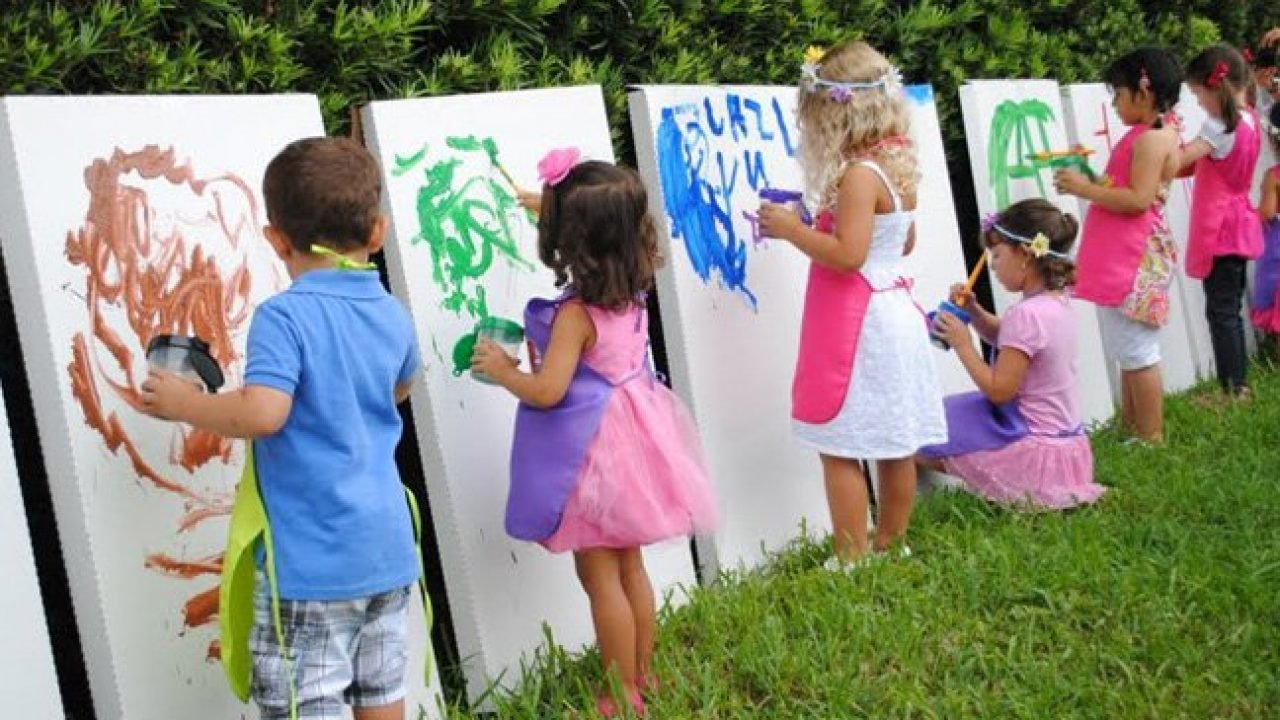 The Carnival and the Luau Two Summer Party Themes for Kids