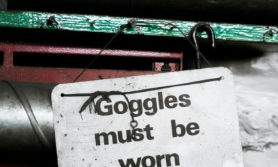 goggle must be worn