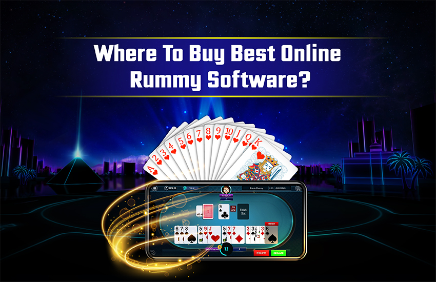 Where to Buy Best Online Rummy Software?